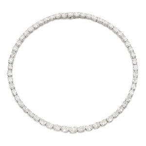 Lot 89A - Diamond Necklace