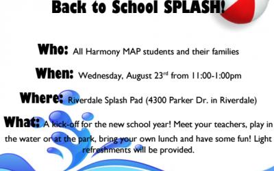 Roy MAP: Back to School Splash!