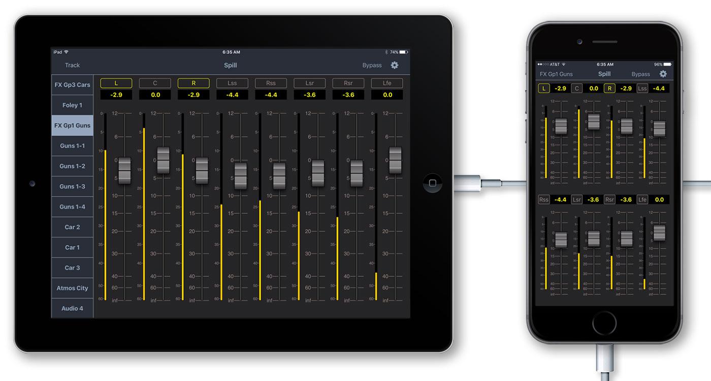 V-PlugIn iPad iPhone Spill