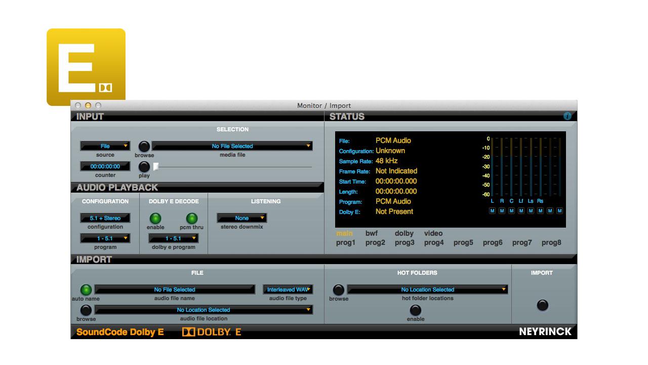 SoundCode Dolby E