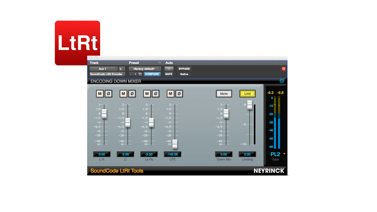 SoundCode LtRt Tools