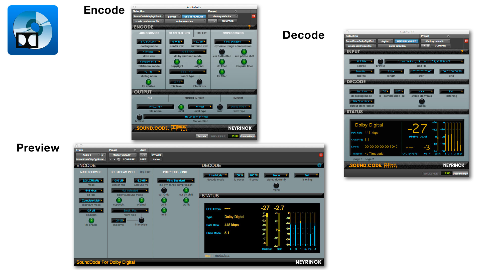 SoundCode for Dolby Digital 2 Suite