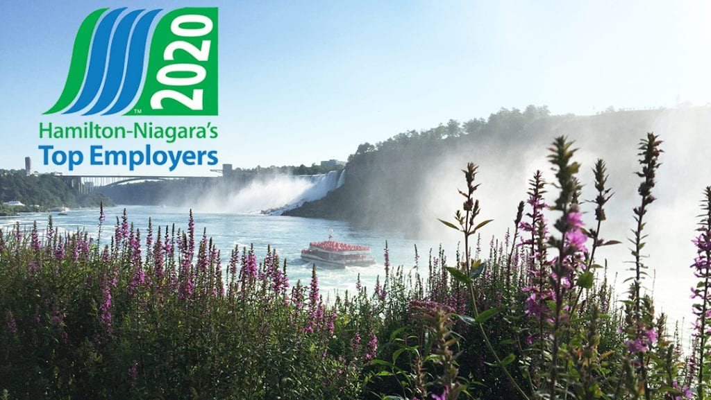 Hornblower Niagara Cruises Awards and Accolades Niagara Falls Canada Top Employers