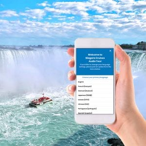 Hornblower Niagara Cruises App Audio Guide