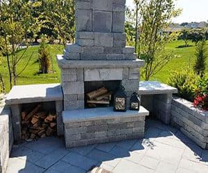 Mini Verona Fireplace