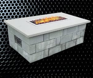 SG Linear Fire Pit
