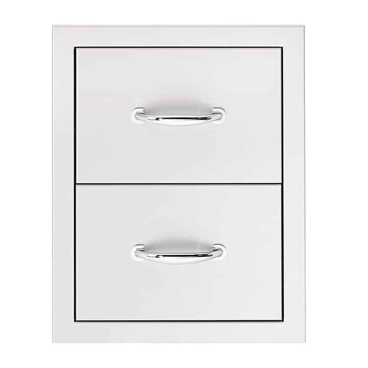 17″ DOUBLE DRAWER