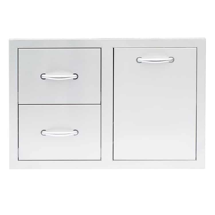 """33"""" 2-DRAWER & VENTED LP TANK PULLOUT DRAWER COMBO"""