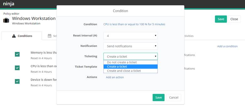 ConnectWise Integration Guide Support Community – Create Tickets Template