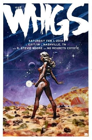 The Whigs Poster