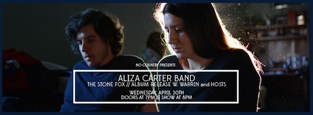 AlizaCarterBand_NoCountryPresents_cover photo 2
