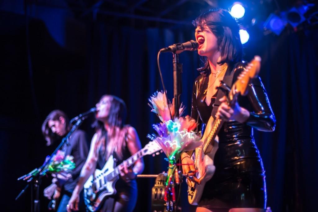 Dum Dum Girls. Photo by Matt Cairns