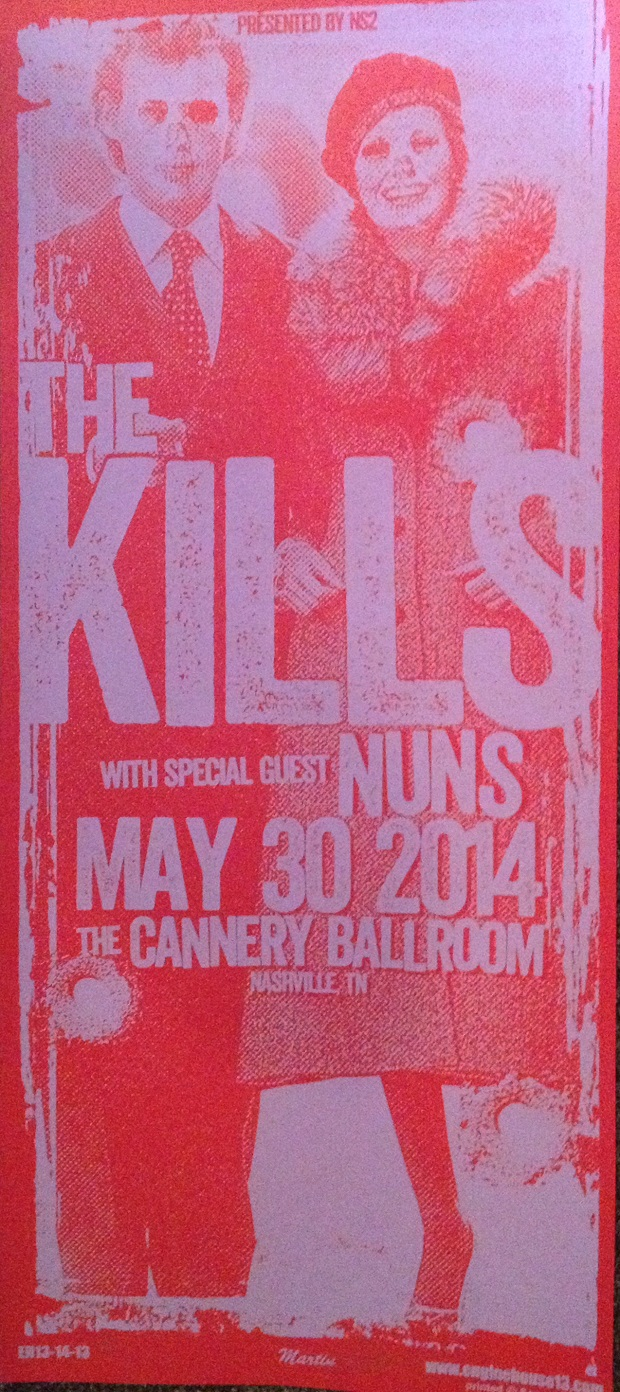 The Kills poster