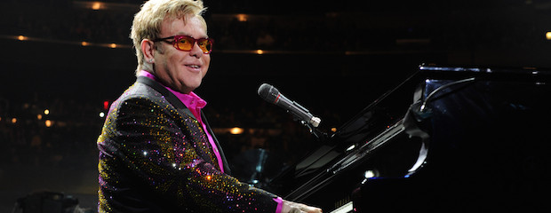 Elton John Performs at Madison Square Garden