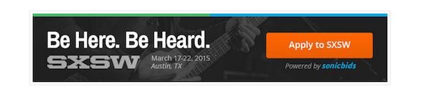 SXSW Sonic Bids 2015