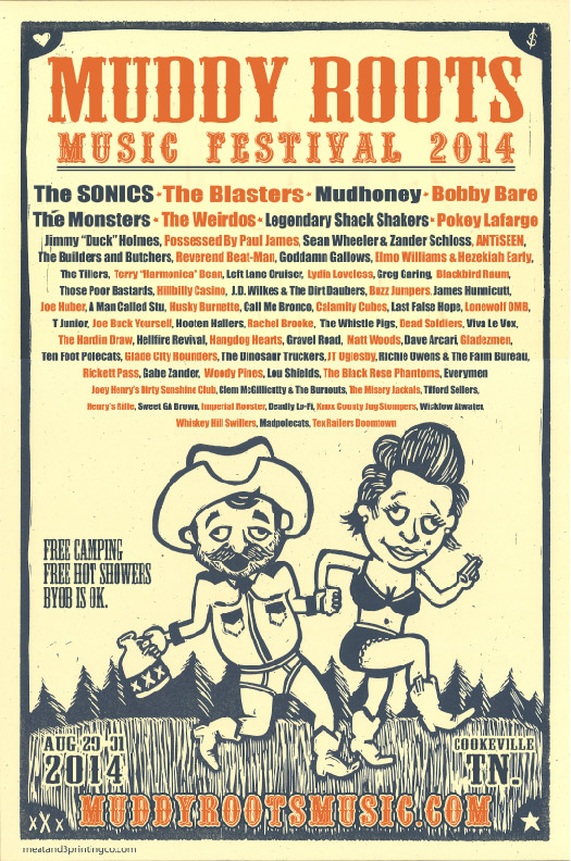 Muddy Roots 2014 Lineup