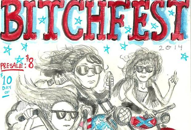 Bitchfest flyer -620