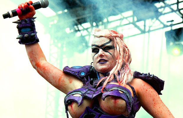 gwar replace late frontman with new vocalist vulvatron catch them
