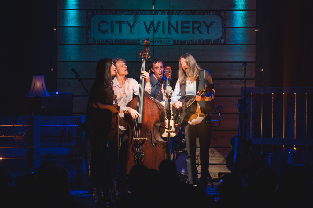 The Wood Brothers w/ Kristina Train.  Photo by Sundel Perry.