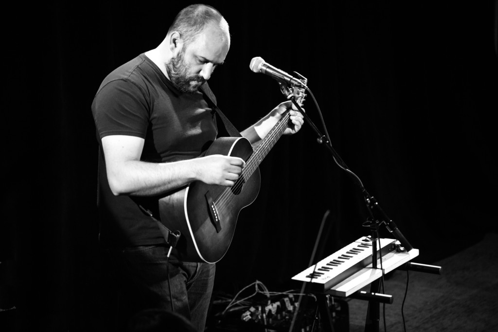 David Bazan + Passenger String Quartet. Photo by Matt Cairns.