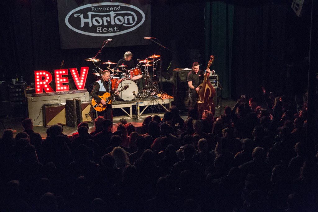 Reverend Horton Heat.  Photo by Sundel Perry.