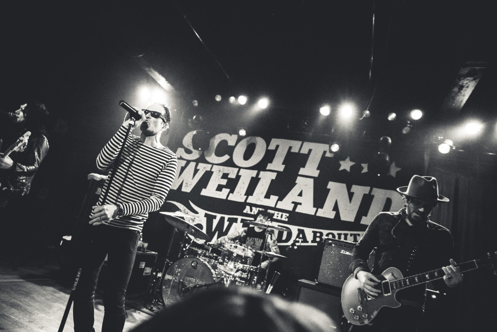 Scott Weiland and The Wildabouts.  Photo by Sundel Perry.