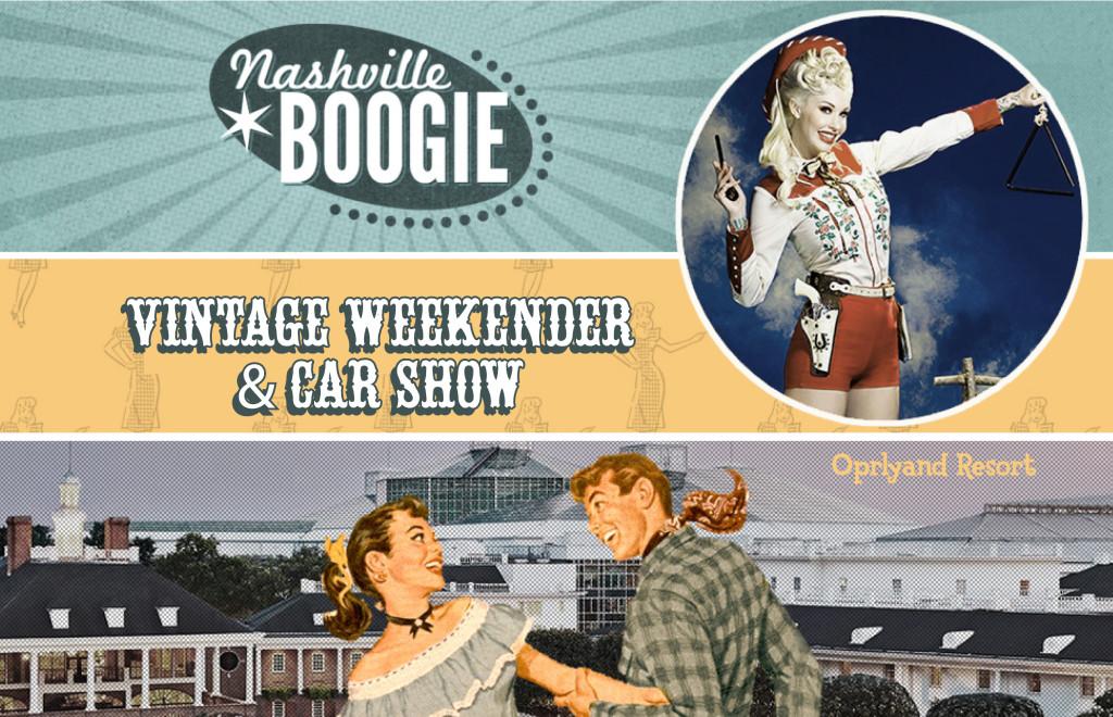 Nashville Boogie Vintage Weekender