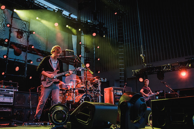 Phish performing at Ascend Amphitheater in Nashville, TN