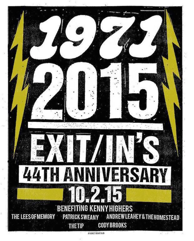 ExitIn 44 Bday Poster