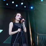 CHVRCHES @ Bonnaroo 2016 – 6.10.16  //  Photo by Mary-Beth Blankenship