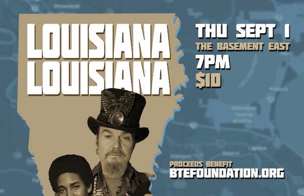 Louisiana Benefit header