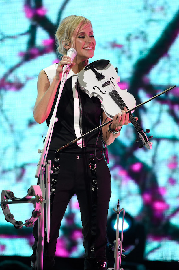 CINCINNATI, OH - JUNE 01:  Martie Maguire of the Dixie Chicks performs onstage during the DCX World Tour MMXVI Opener on June 1, 2016 in Cincinnati, Ohio.  (Photo by Kevin Mazur/Getty Images for PMK)