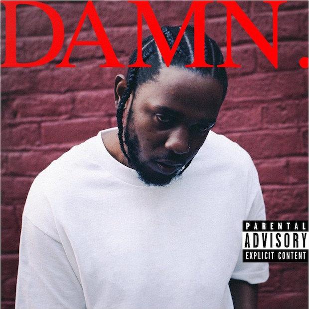 Kendrick Lamar-DAMN-Cover Art