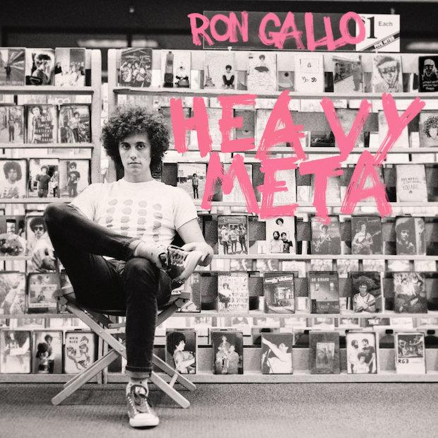 Ron Gallo-Heavy Meta-Cover Art