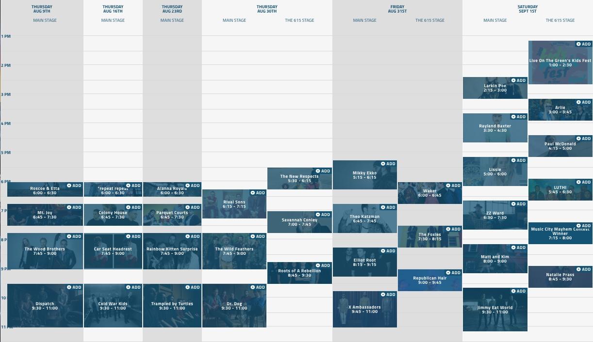 LOTG2018-Schedule