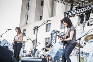 Roscoe & Etta @ Live on the Green - 8.9.18  //  Photo by Brendan Donohue