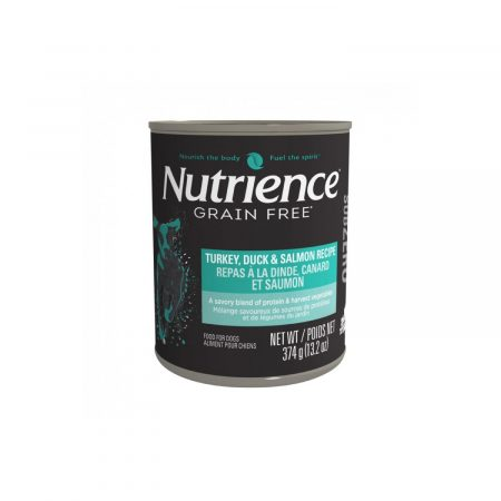 NUTRIENCE SUBZERO LATA - PERRO - PAVO/SALMON/PATO