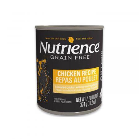 NUTRIENCE SUBZERO LATA - PERRO - POLLO