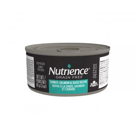 NUTRIENCE SUBZERO LATA - GATO - PAVO/SALMON/PATO