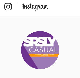 Be sure to Follow us on Instagram