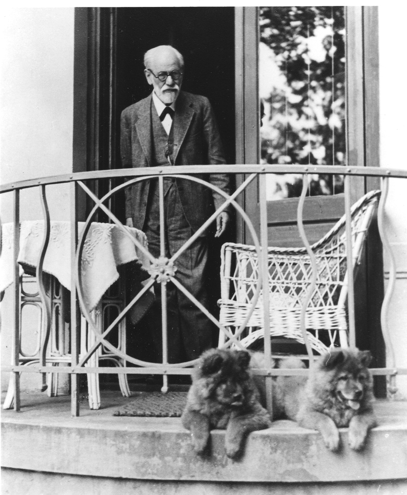Sigmund Freud and his Chows in photos and video - CHOWTALES