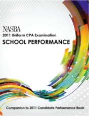 NASBA 2011 Uniform CPA Examination School Performance