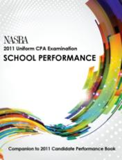 NASBA 2011 Uniform CPA Examination School Performance
