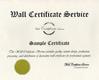 Certificate - No Frame