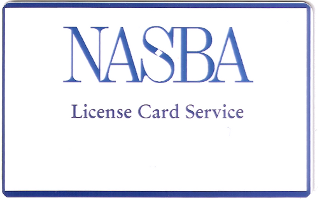 Nevada CPA License Card