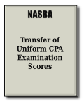 Transfer of CPA Examination Scores