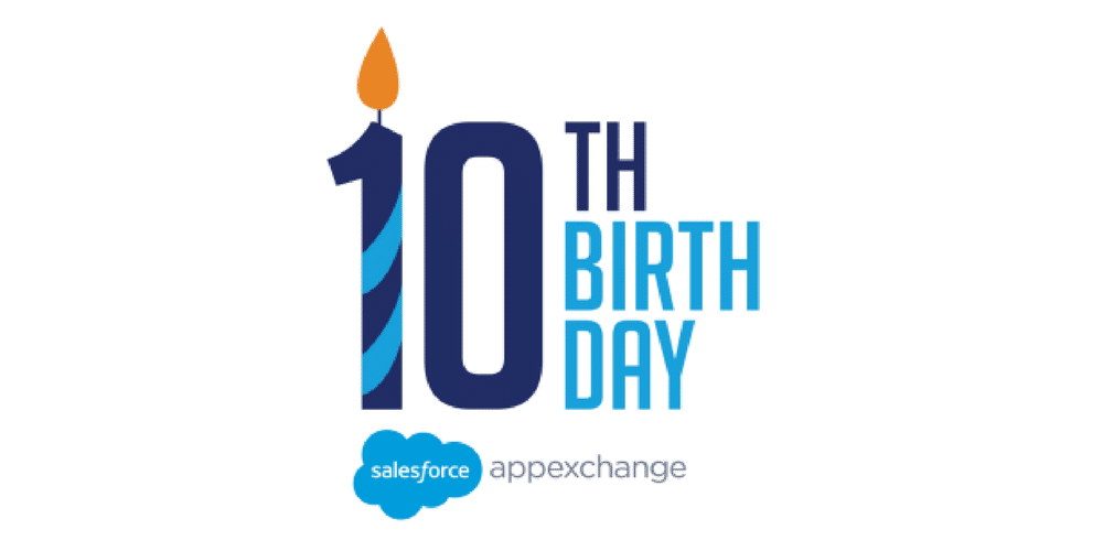 Nubik says Happy Birthday to Salesforce AppExchange