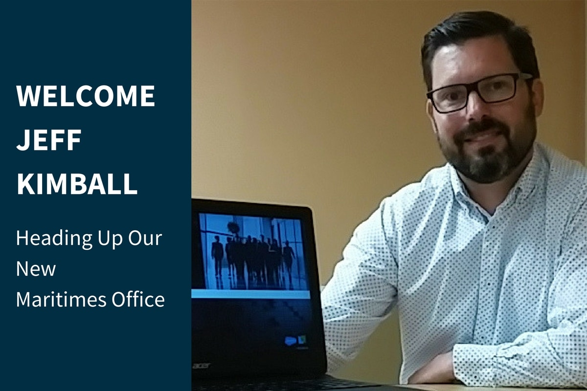 Jeff Kimball, Salesforce Customer Success Director New Brunswick Maritimes