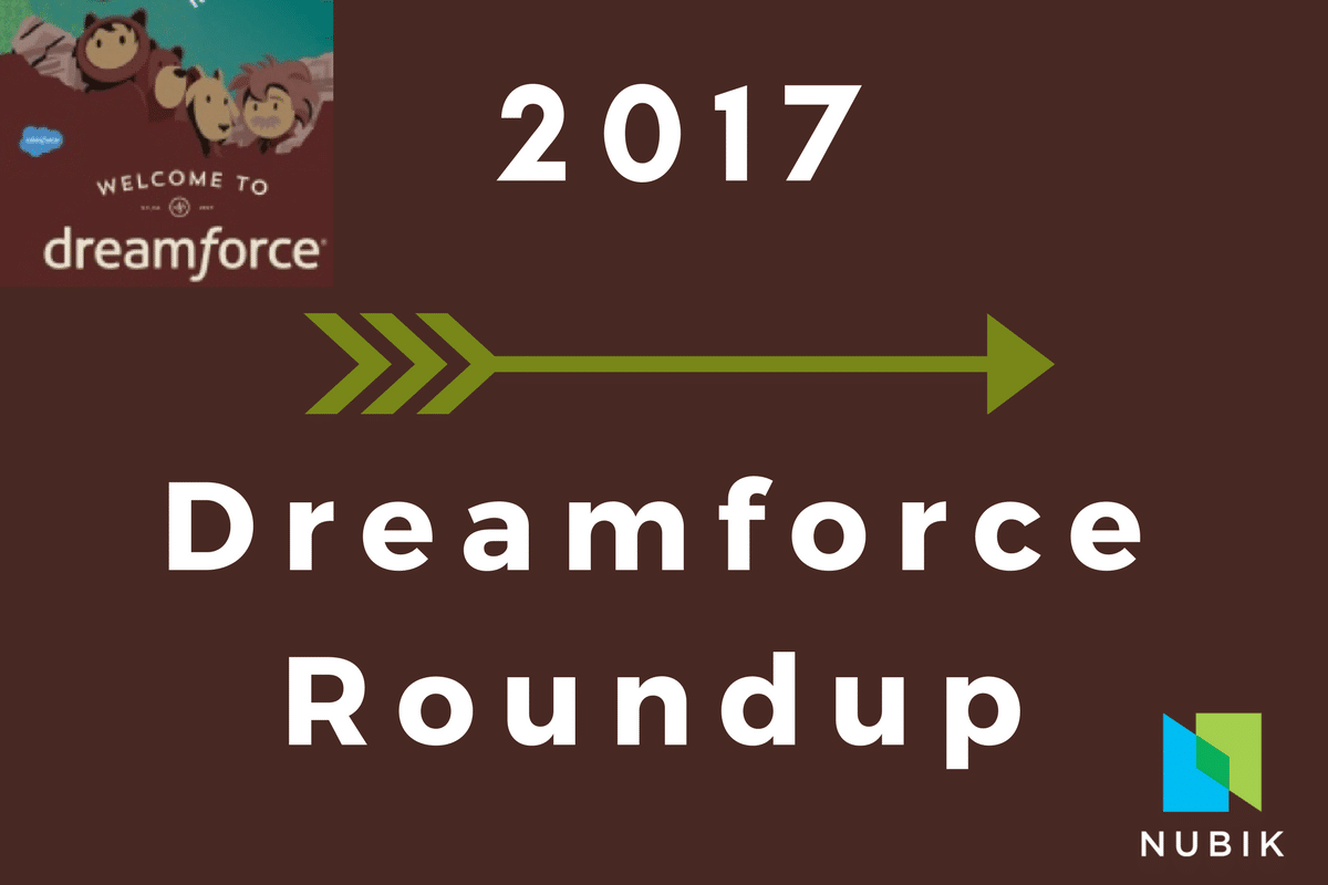 Einstein Dreamforce 2017 Roundup