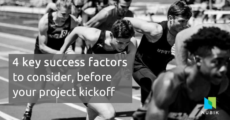 4 key success factors project kickoff